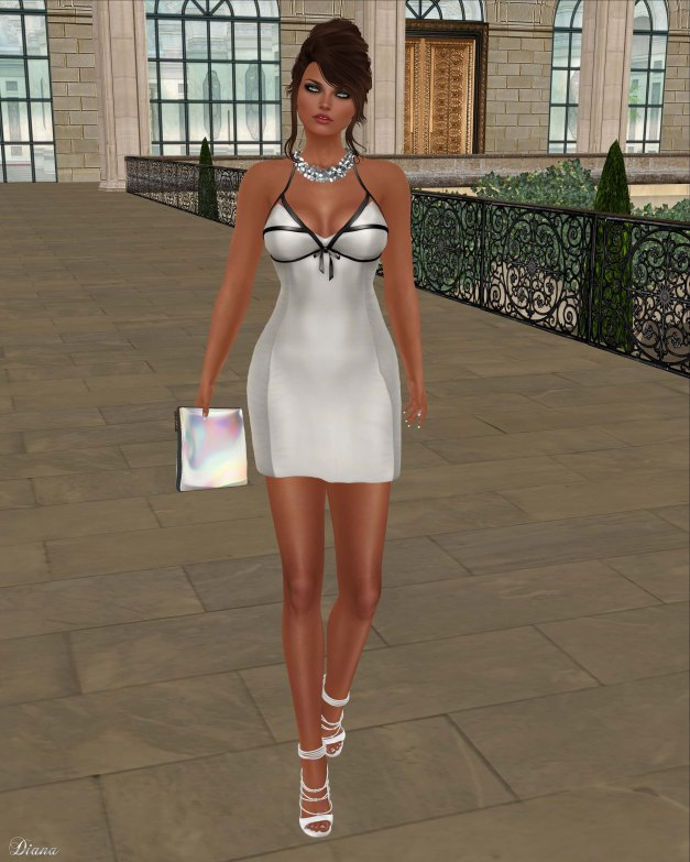 Baiastice - Roxette Dress-Powder