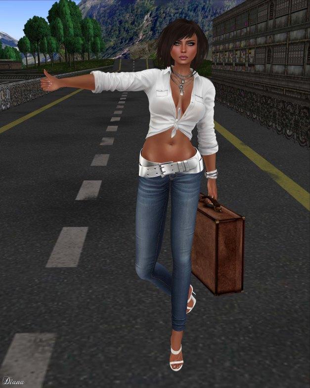 Blueberry - Rica Skinny Jeans-1