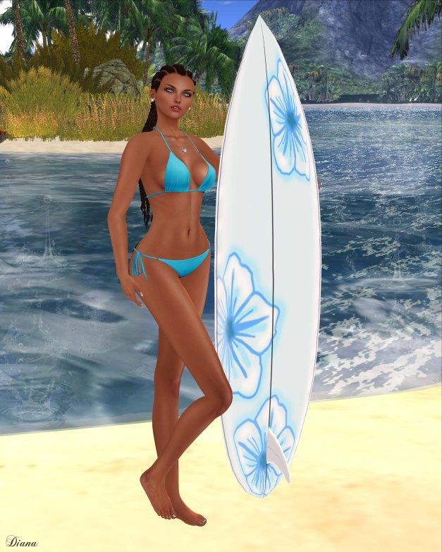 Blueberry - Tyrkini Bikini Set-2