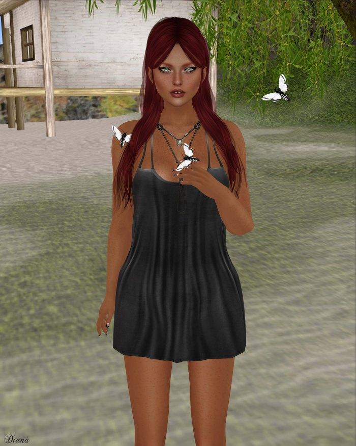 GizzA - Madelyn Dress Black