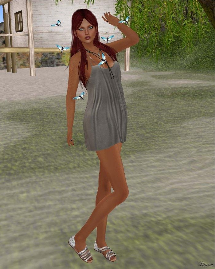 GizzA - Madelyn Dress Stone