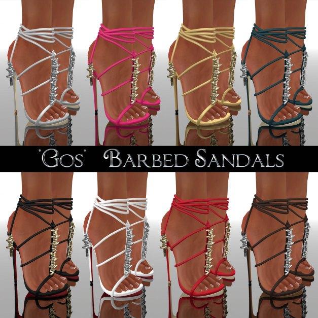 Gos - Barbed Sandals