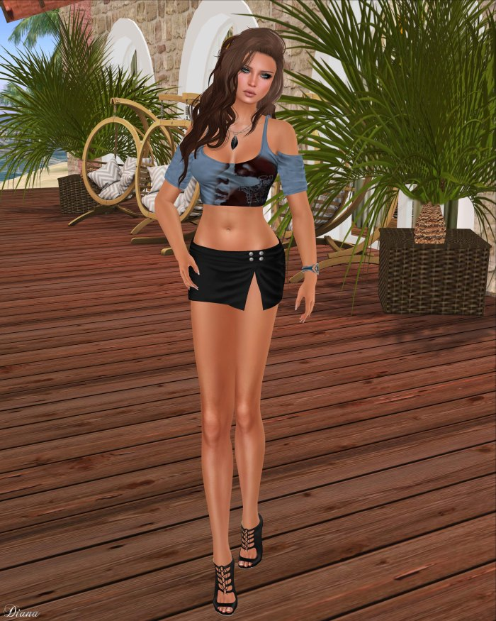 Just BECAUSE - Candace Shirt and Laura Miniskirt-1