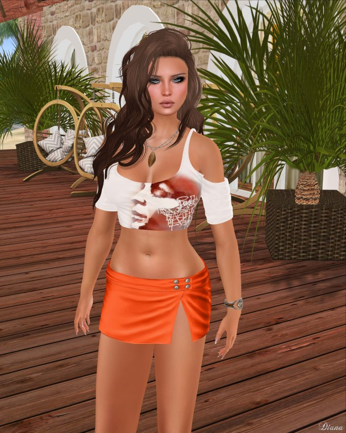 Just BECAUSE - Candace Shirt and Laura Miniskirt-3