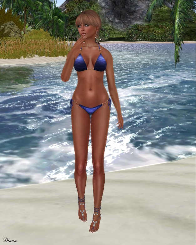 !Rebel Hope - South Beach Mesh Bikini