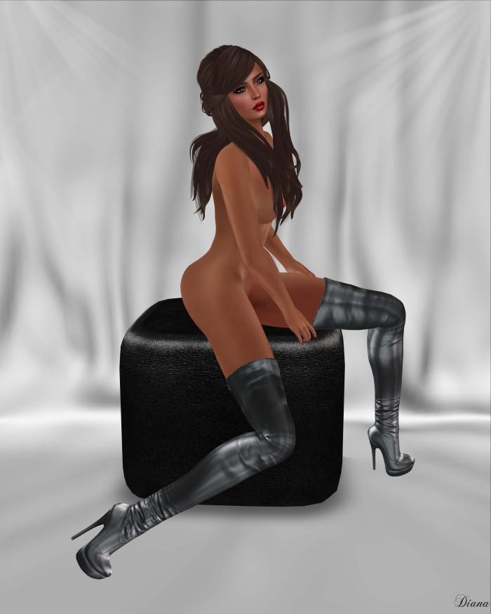 Bax - Regency Boots Metallic-1
