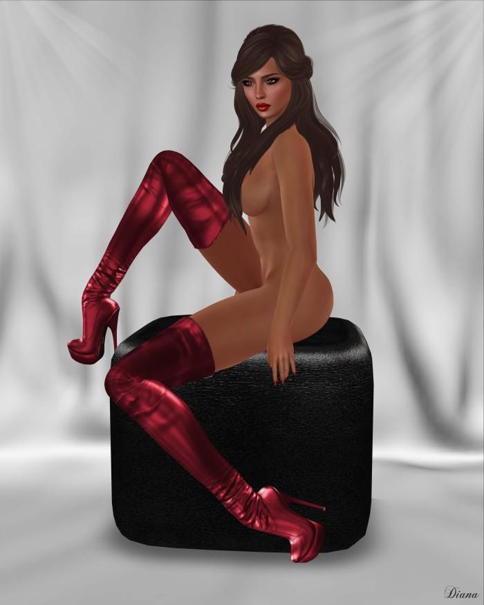 Bax - Regency Boots Metallic-2