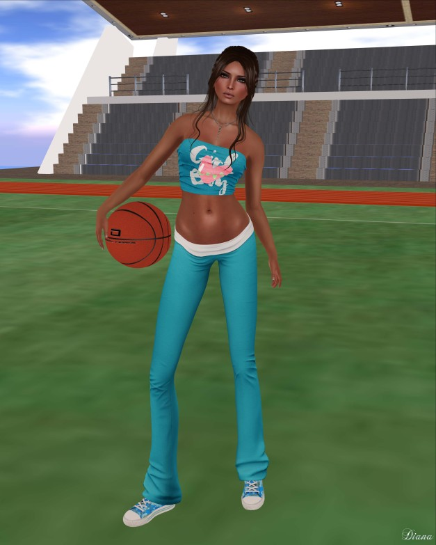 Blueberry - Mina Tube Top and Sylvia Yoga Pants-2