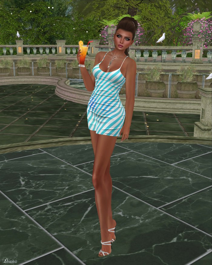 Blueberry - Rylai Tight Dress-1