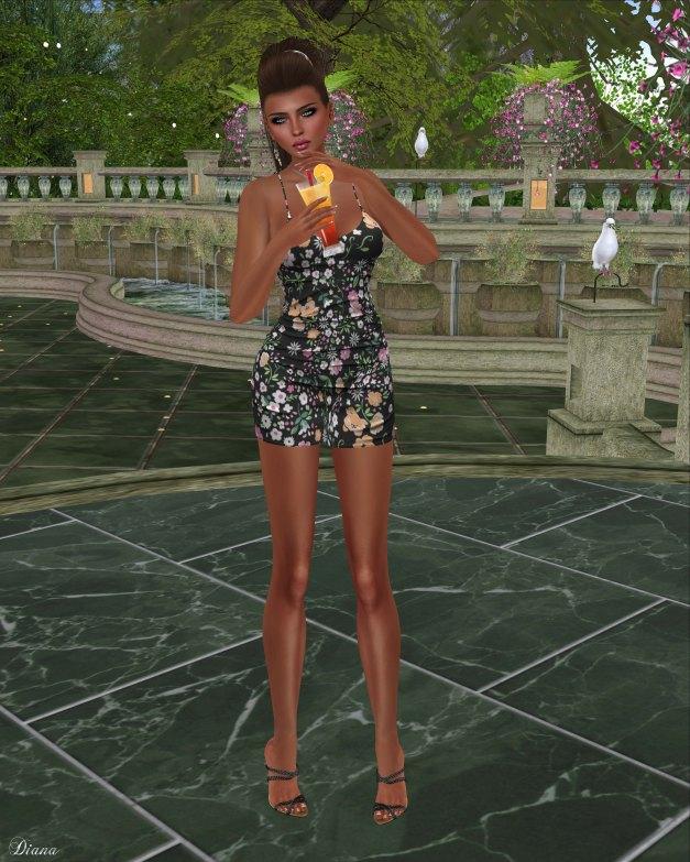 Blueberry - Rylai Tight Dress-2