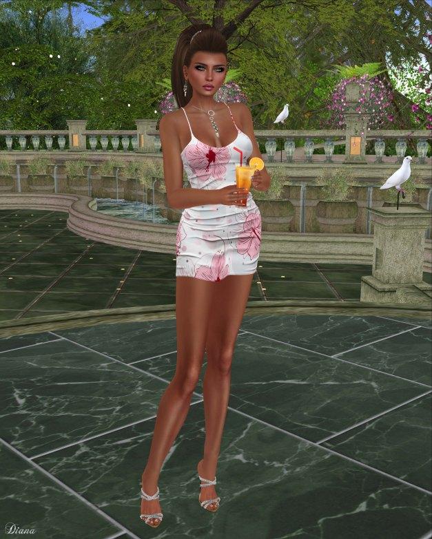 Blueberry - Rylai Tight Dress-3