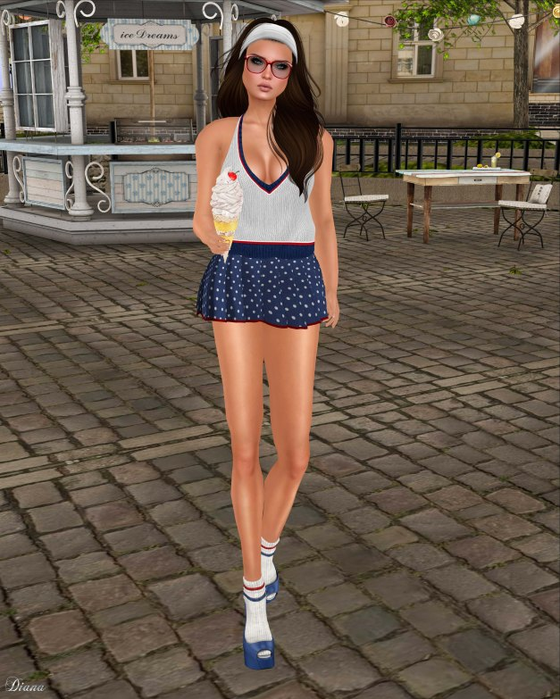 GizzA - Amy Outfit Blue