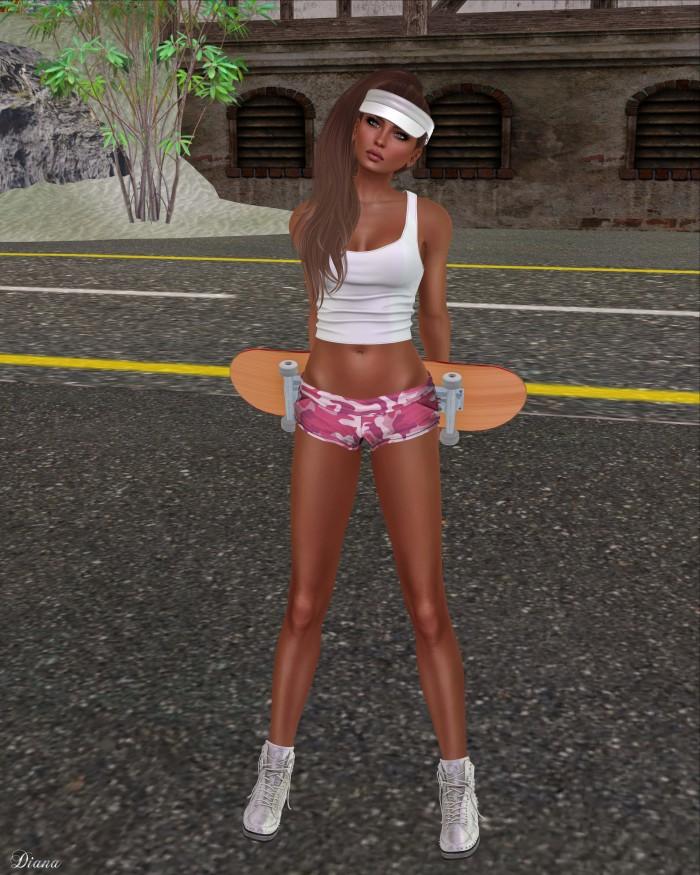 Just BECAUSE - Cora Shorts-1