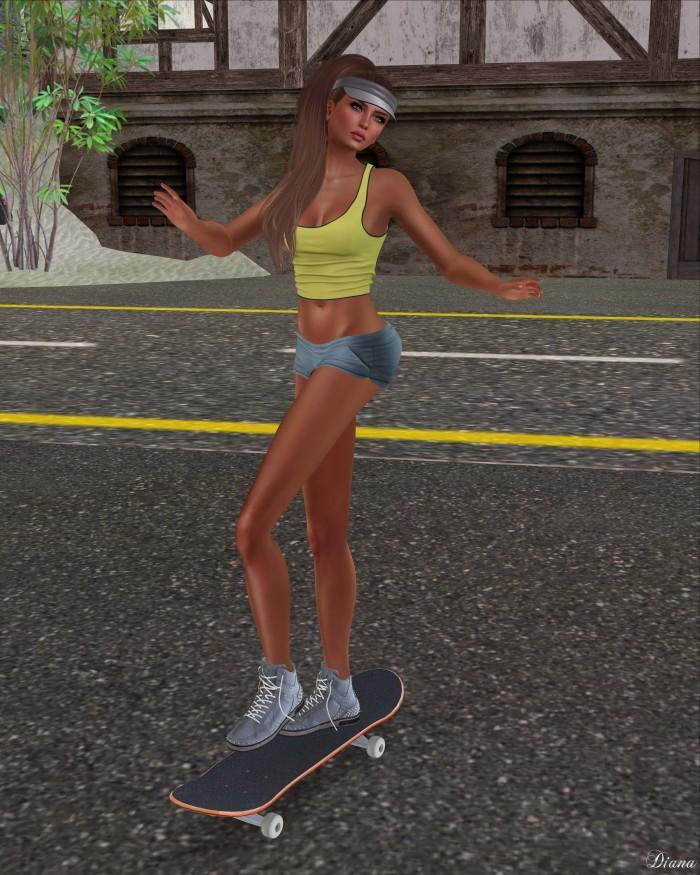 Just BECAUSE - Cora Shorts-3