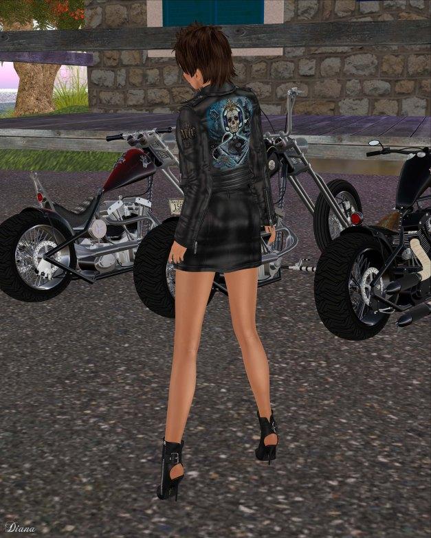 Lapointe & Bastchild - Swear Death Royale Leather Biker Jacket-2