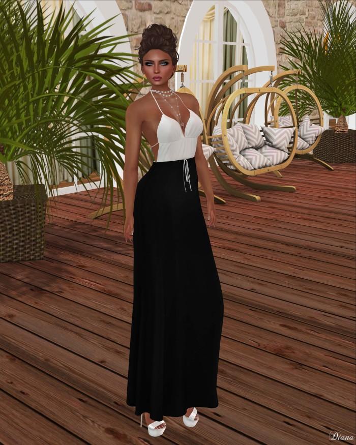 Neve - dress athena neutral