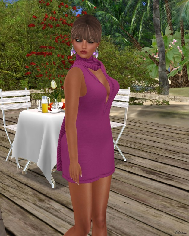 Neve - dress sophisticate lively
