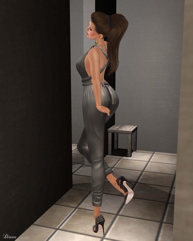 Ricielli - Freya Jumpsuit Grey