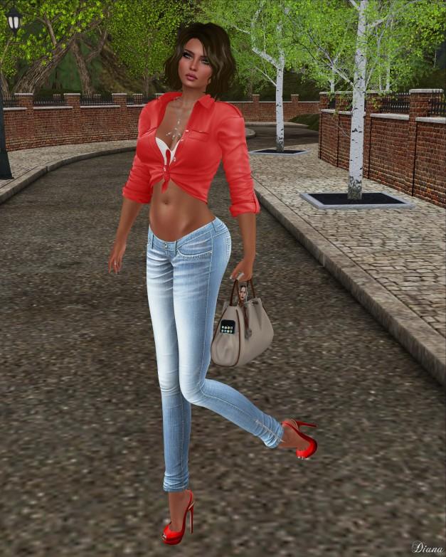 Blueberry - Mia Tight Jeans-2