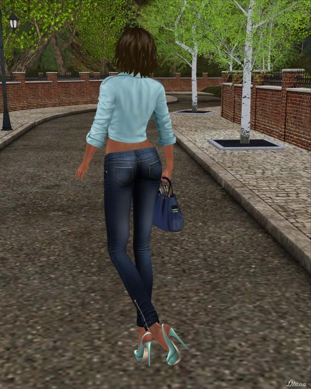 Blueberry - Mia Tight Jeans-3