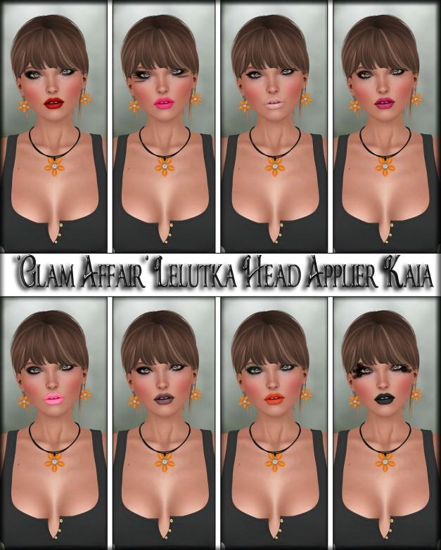 Glam Affair - Lelutka Head Applier Kaia
