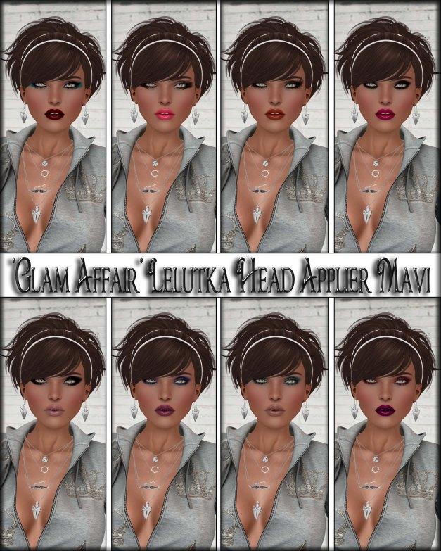 Glam Affair - Lelutka Head Applier Mavi