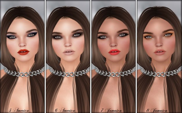 Glam Affair - Lelutka Head Applier Rachel 5-8