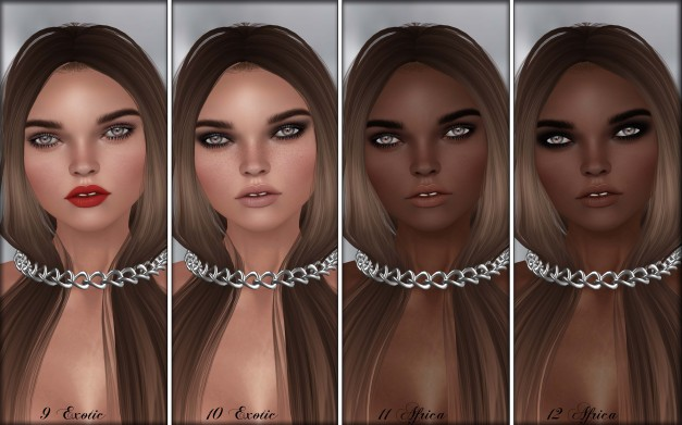 Glam Affair - Lelutka Head Applier Rachel 9-12