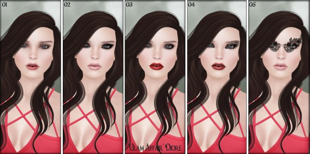 Glam Affair - Lelutka Heads Applier - Diore