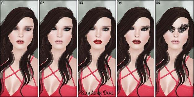 Glam Affair - Lelutka Heads Applier - Diore