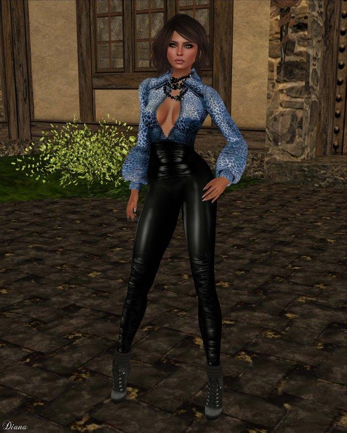 Indyra - Aziza Cobalt