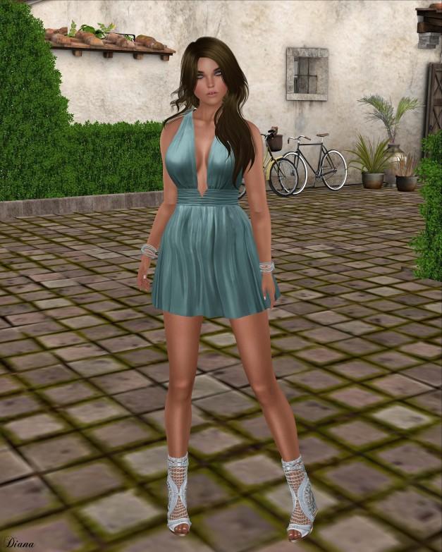Ricielli - Bonnie Dress Aqua