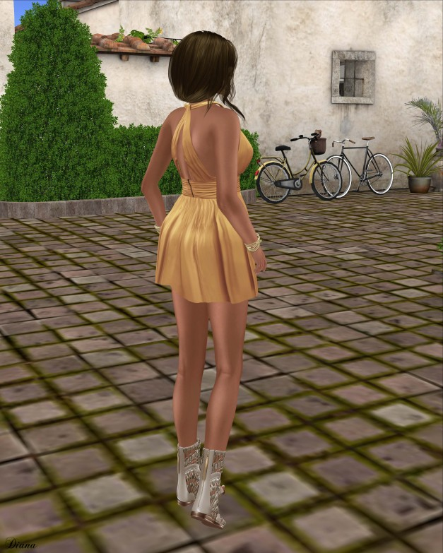 Ricielli - Bonnie Dress Soft Yellow