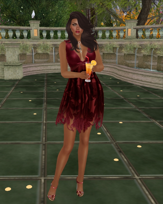 Baiastice - Clya Dress Red
