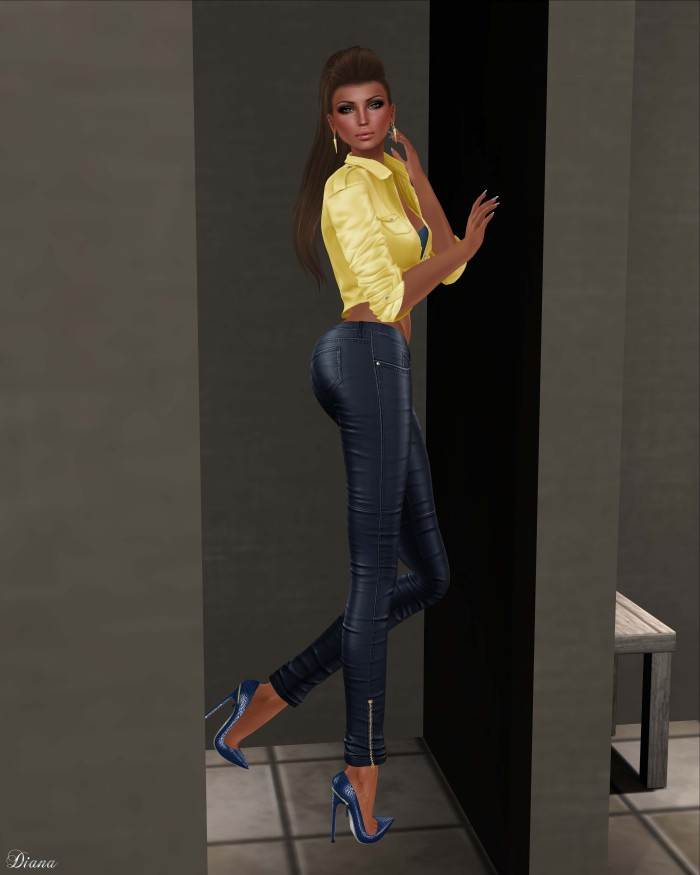 Blueberry - Rene Leather Pants-2