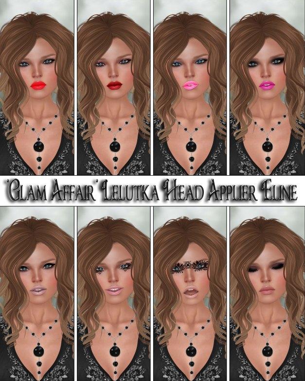 Glam Affair - Lelutka Head Applier Eline