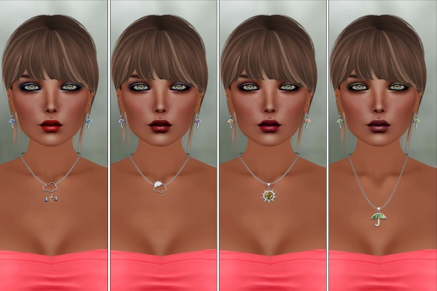 Izzie's - Catwa Applier Taleah and Weather Necklace-2