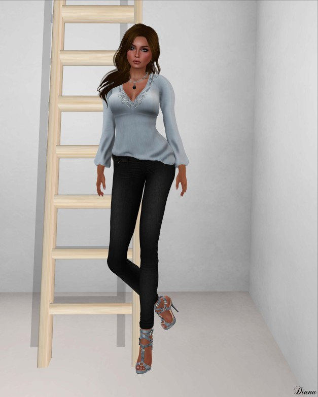 !Rebel Hope - Careless Mesh Top,Jealousy Mesh Jeans,Redempiton Mesh Heels-1