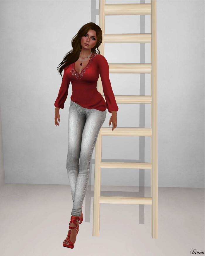 !Rebel Hope - Careless Mesh Top,Jealousy Mesh Jeans,Redempiton Mesh Heels-2