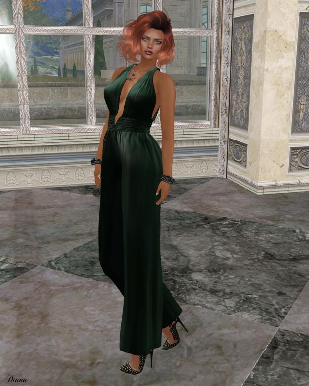 Ricielli - Olivia Jumpsuit Emerald