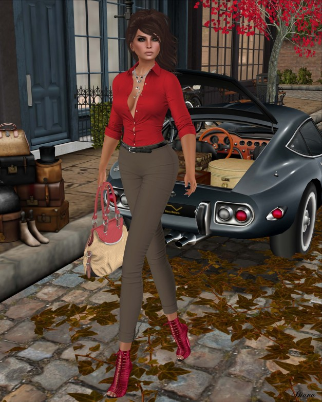 Addams - Rome Body Shirt and Grecia Suit Pants-1