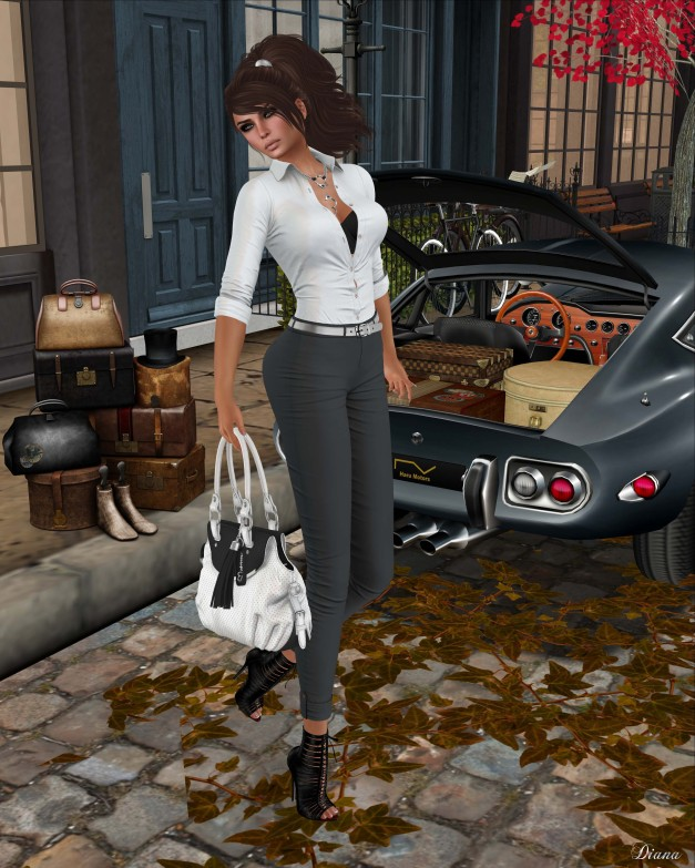 Addams - Rome Body Shirt and Grecia Suit Pants-2