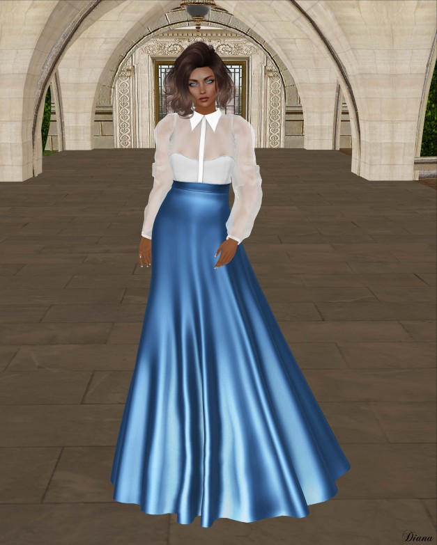 Baiastice - Cara Dress Azure
