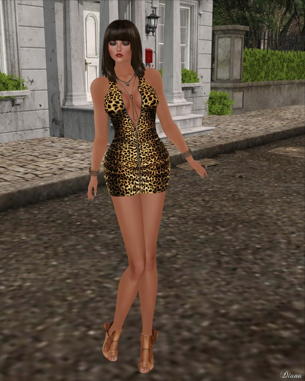 Just BECAUSE Ashley Dress-1