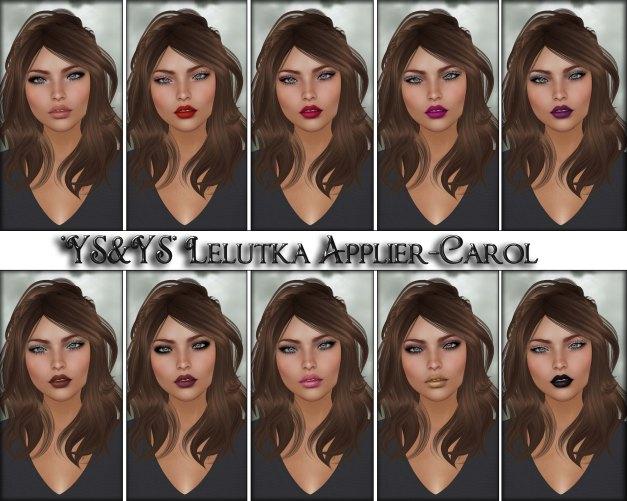 YS&YS - Lelutka Applier Carol