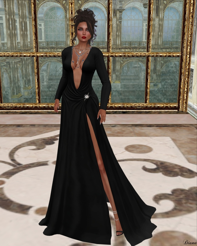 Just BECAUSE - Maya Gown-1