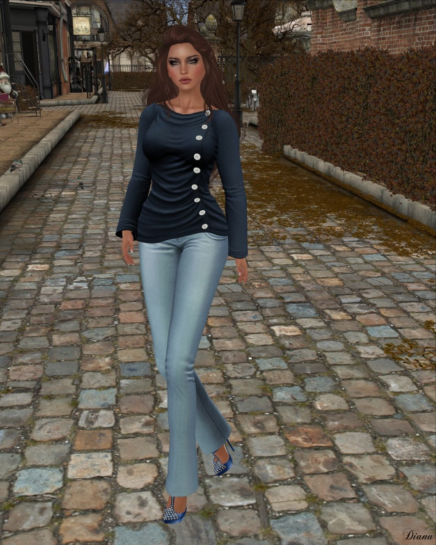 Just BECAUSE - Sophia Shirt-2