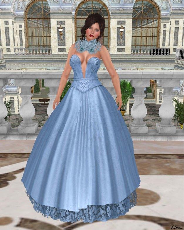 Baiastice - Nayla Dress-Azure