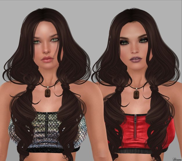 Glam Affair - Catwa Applier Livia and Lelutka Head Applier Jin