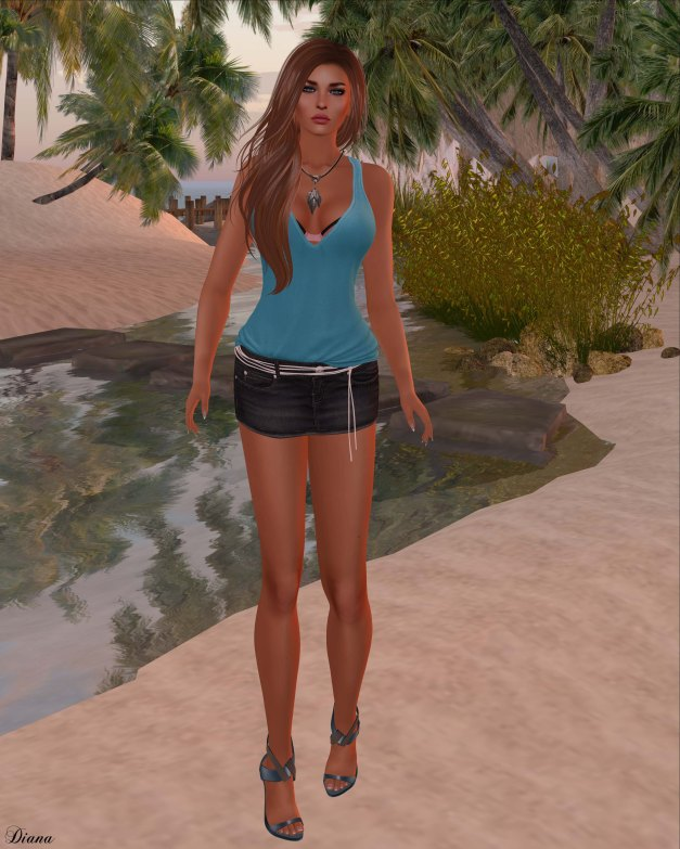 Blueberry - Hazel Top and Britan Skirt-2